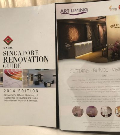 Featured in Singapore Renovation Guide 2014