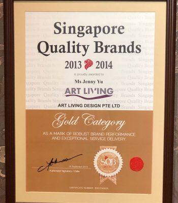 Singapore Quality Brand 2013 – 2014
